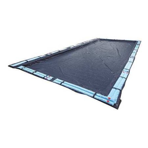 Blue Wave 8-Year 16 ft. x 32 ft. Rectangular Navy Blue In Ground Winter Pool Cover