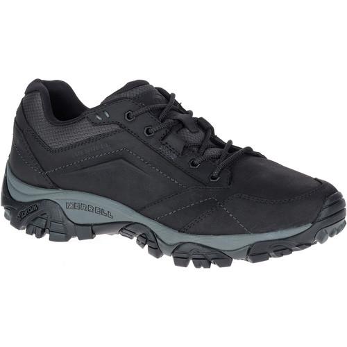 MERRELL Men's Moab Adventure Lace Up Shoes, Black