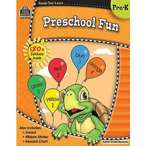 Teacher Created Resources Ready - Set - Learn, Pre School Fun Book