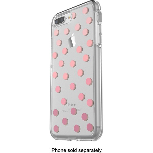 OtterBox - Symmetry Series Clear Graphics Case for Apple iPhone 7 Plus - Save me a spot