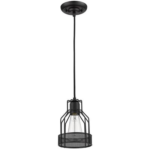 Wire cage antique black industrial edison pendant lamp light