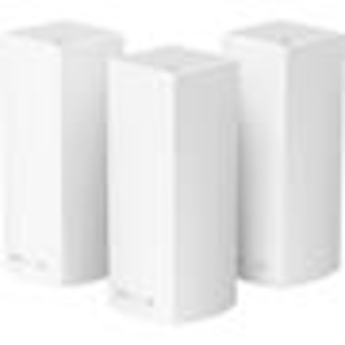 Linksys Velop Tri-band Wi-Fi System (3-pack) High-performance mesh Wi-Fi router system