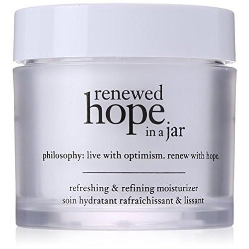 Renewed Hope in a Jar Refreshing & Refining Moisturizer by Philosophy for Women - 4 oz Moisturizer [4 oz]