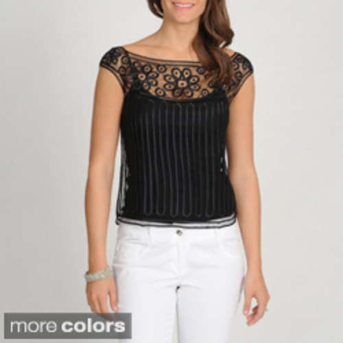 SoulMates Women's Hand Crafted Silk Top (cami not included)