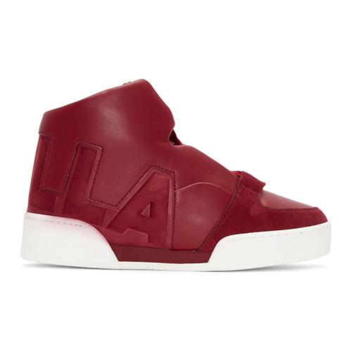 STELLA MCCARTNEY Red 'Stella' High-Top Sneakers