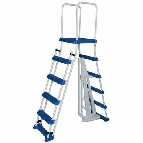 Blue Wave NE1215 52 A-Frame Ladder with Barrier