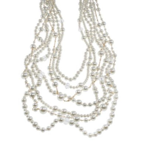 Multi-Row Mixed Strand Necklace