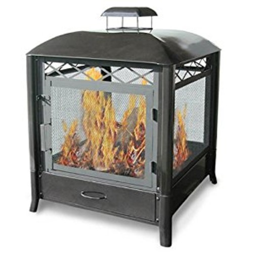 Landmann 28107 The Aspen Outdoor Fireplace