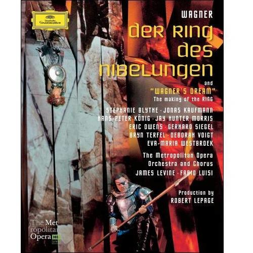 Der Ring Des Nibelungen (5 Disc) (Blu-ray Disc)