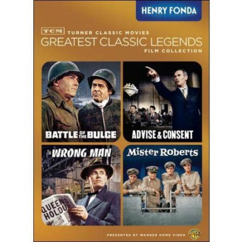TCM Greatest Classic Films Collection: Henry Fonda - The Wrong Man / Mister Roberts / Battle Of The Bulge / Advise & Consent