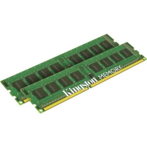 Kingston 16GB 1333MHz DDR3 Non-ECC CL9 DIMM (Kit of 2) - 16 GB - DDR3 SDRAM - 1333 MHz DDR3-1333/PC3-10600 - Non-ECC - Unbuffered - 240-pin DIMM