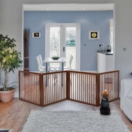 Richell Wooden Pet Room Divider