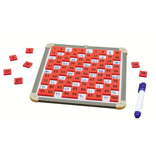 Foam Magnetic Numbers with Board