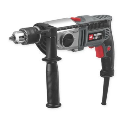 Porter-Cable 1/2-Inch Hammer Drill in Grey/Black