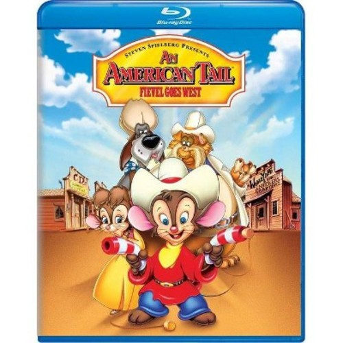 An American Tail: Fievel Goes West [Blu-ray] [1991]