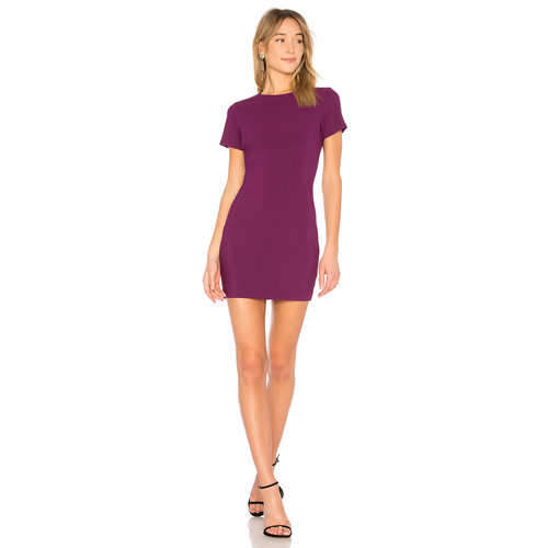 LIKELY Manhattan Dress in Electric Plum
