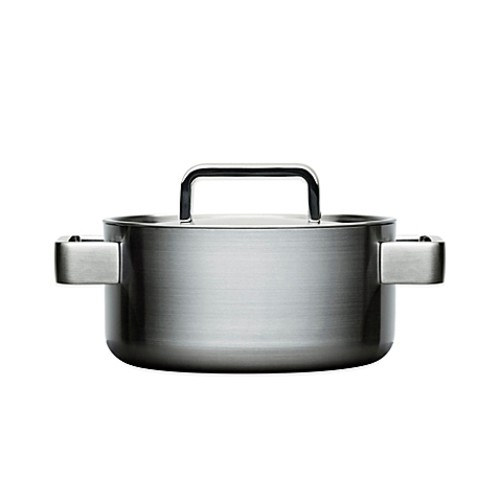 iittala Tools 2 qt. Stainless Steel Covered Casserole with Lid