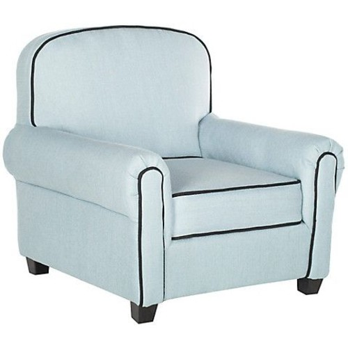Hess Club Chair, Blue