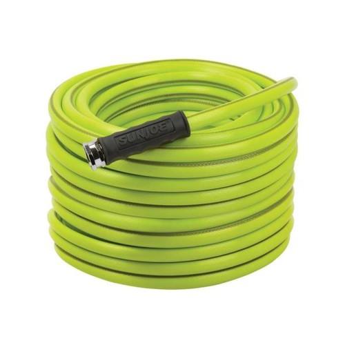 Sun Joe Aqua Joe 5/8 in. Dia. x 100 ft. Heavy Duty, Kink-resistant, Lightweight Garden Hose, Lead-free, BPA-free