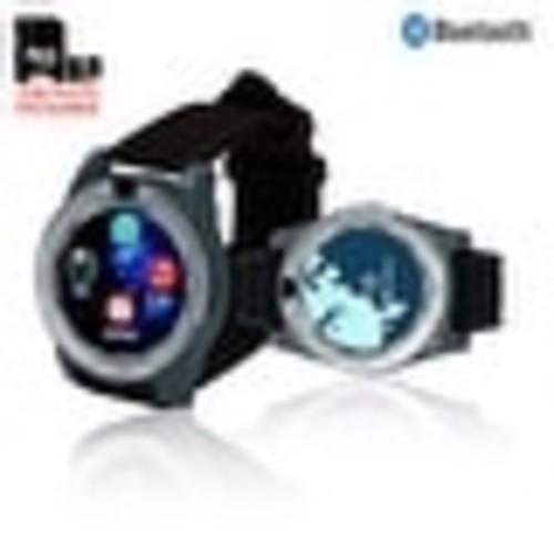 Indigi GSM Unlocked Bluetooth Sync SmartWatch [Wrist Camera + SMS/Call Reminder] + 32gb SD