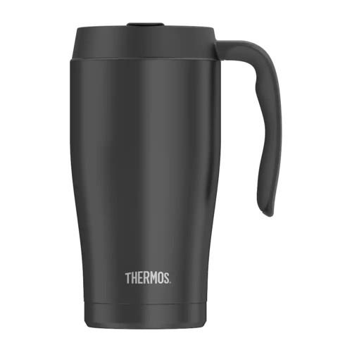 Thermos 22-oz. Black Stainless Steel Mug
