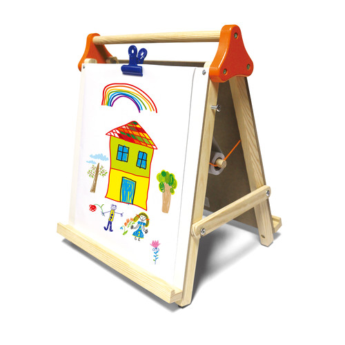Just Kidz 3-in-1 Tabletop Wooden Easel