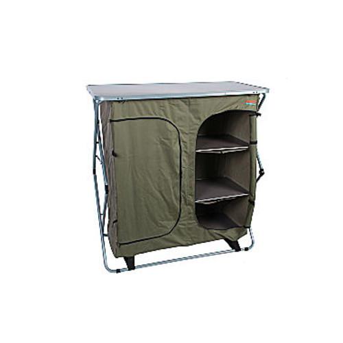 Sierra Double Camp Cupboard Folding Table