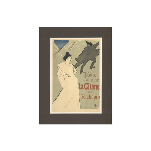 Phyllis Lucas Gallery/Old Print Center Toulouse Lautrec Theatre Poster