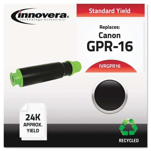 Innovera IVRGPR16 Remanufactured 9634A003AA (GPR-16) Toner, Black