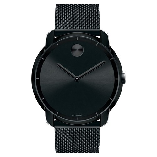 'Bold' Mesh Strap Watch, 44mm