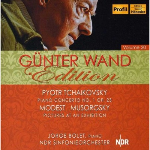 Tchaikovsky: Piano Concerto No. 1; Mussorgsky: Pictures at an Exhibition [CD]