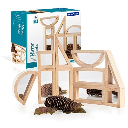 Guidecraft Mirror Blocks Set (10 Piece)