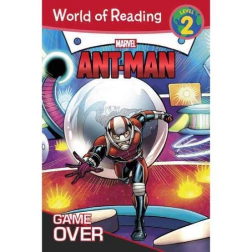 World of Reading, Level 2 - Ant-man: Game over