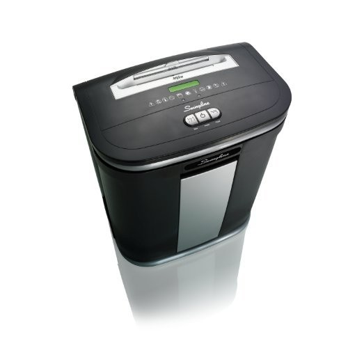 Swingline Paper Shredder, Jam Free, 12 Sheet Capacity, Micro-Cut, 1-5 Users, SM12-08 (1758496)