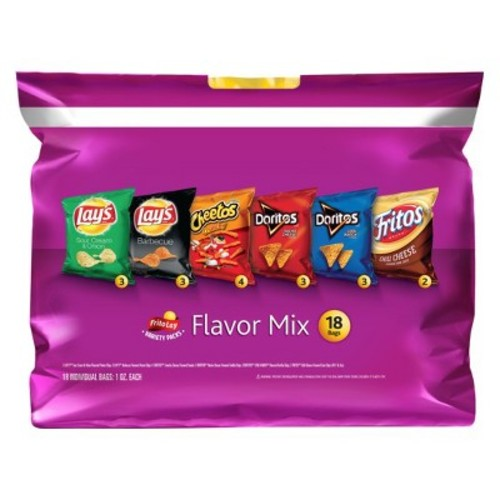 Do Us A Flavor Variety Pack Chips Snacks
