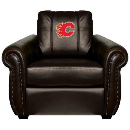 Dreamseat Chesapeake Club Chair; Calgary Flames - Red