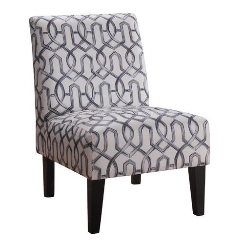 Karina Slipper Chair [Upholstery : Teal]