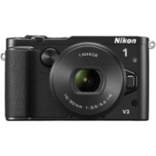 Nikon - 1 V3 Mirrorless Camera with 1 NIKKOR VR 10-30mm PD-ZOOM Lens - Black