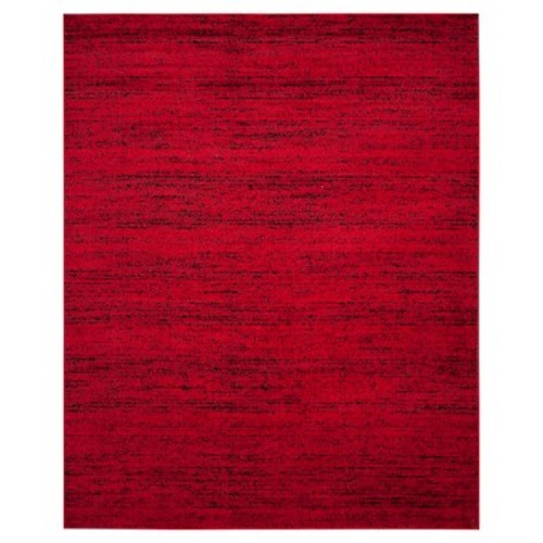 Safavieh Adirondack Red/Black 5 ft. 1 in. x 7 ft. 6 in. Area Rug
