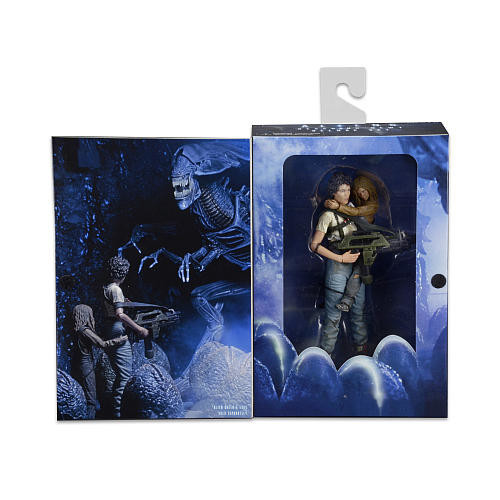 NECA Aliens 7 inch Scale Action Figure 2 Pack 30th Anniversary -