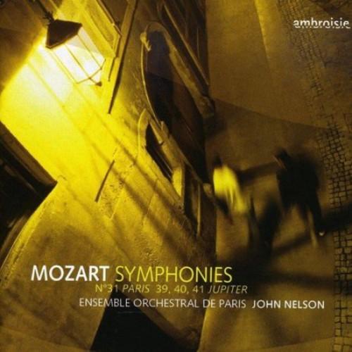 Mozart Symphonies No. 31 Paris 39 40 41 Jupiter - CD