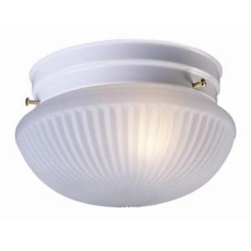 Design House Millbridge 1-Light White Ceiling Light