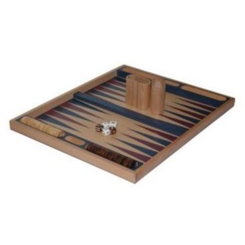 Chh 19 Inch Blue Non-Folding Backgammon (Chhg014)