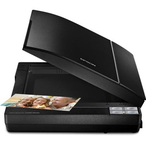 Epson Perfection V370 Scanner with Integrated Transparency Unit - Refurbished B11B207221-N