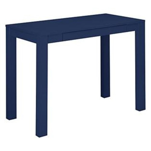 Altra Furniture Parson Desk with Drawer, Navy