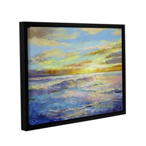 ArtWall Florida Sunrise by Michael Creese Framed Painting Print; 14'' H x 18'' W