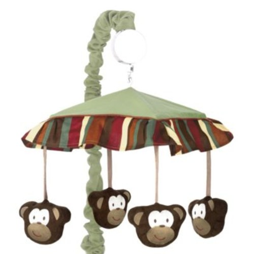 Sweet Jojo Designs Monkey Time Musical Mobile