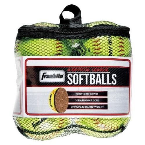 Franklinicial League Yellow Softballs