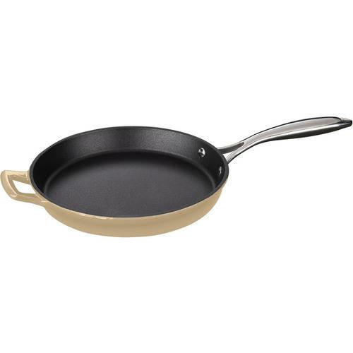 La Cuisine Cast Iron Fry Pan with Enamel Finish