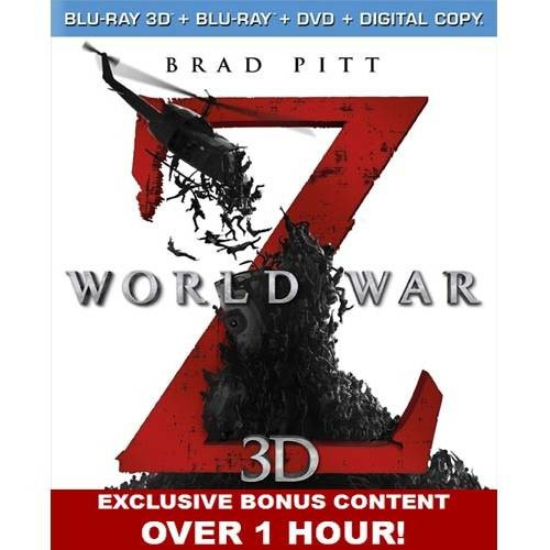 World War Z 3D [Unrated] [3 Discs] [Includes Digital Copy] [3D/2D] [Blu-ray/DVD]